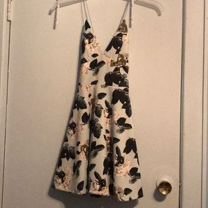 Flowered dress from revamped
